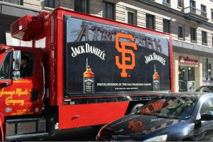 Custom Jack Daniels Trailer Wrap