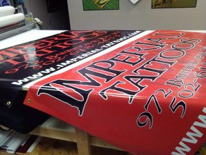 Custom Outdoor Vinyl Banners
