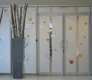 Custom Privacy Window Film
