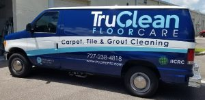 Chapel Hill Vinyl Printing Vehicle Wrap Tru Clean 300x146