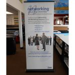 Chapel Hill Trade Show Displays banner vinyl tradeshow retractable indoor 150x150